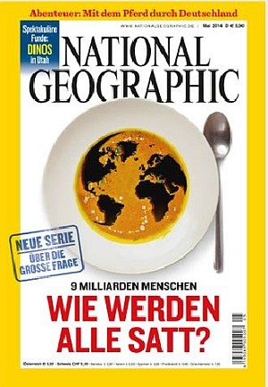 National Geographic im Mai 2014