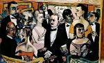 06 - Max Beckmann - Party in Paris - 1947 - Guggenheim-Museum, New York