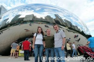 21 - Die Attraktion der Cloud Gate von Anish Kapoor