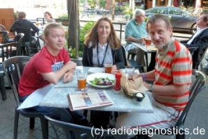 03 - Christian, Sonja und Rainer in der Great Lakes Brewery in Cleveland